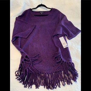 NWT Heathered Purple Sweater by Relativity. XL